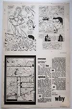 MEGATON MAN BOMBSHELL THE GREEN VALIANT MAXIMUM PRESS 3M PRODUCTION ART PLATES