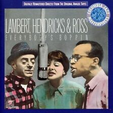 Everybody's Boppin' by Lambert, Hendricks & Ross (CD, Legacy)