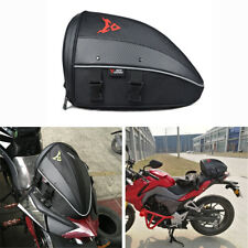 Motorcycle Dirt Bike Tail Bags Luggage Backpack Waterproof Multifunction Black