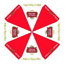 STELLA ARTOIS BELGIUM'S ORIGINAL BEER PATIO UMBRELLA MARKET STYLE NEW HUGE