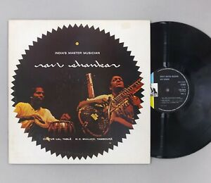 "Ravi Shankar - India's Master Musician - NEAR MINT - UK 12"" Vinyl LP - LBS 83078"