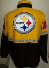 PITTSBURGH STEELERS Starter Full Zip Jacket SUMMER/FALL 3X High Detail