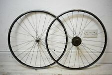 700C ALLOY ROAD BICYCLE WHEELSET, CLINCHER, QUICK RELEASE