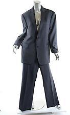 JOHN VARVATOS Charcoal MEN'S 100% Virgin Wool Classic Suit - 52R
