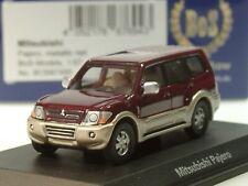 BOS Mitsubishi Pajero, bordeaux zweifarbig - 87495 - 1:87