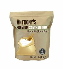 Xanthan Gum 1lb (16 Ounce) Made in the USA by Anthony's Gluten-... Free Shipping