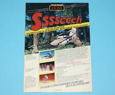 STAR WARS CLIPPER MAGAZINE ADVERT ROTJ 1983 DONALD DUCK HOLLAND KENNER