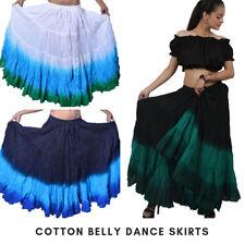 Algodón de 25 yarda Tie Dye wevez danza del vientre falda Elige Tu Color