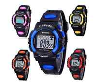 Synoke Day Date Chronograph Luminescence Colour Quartz Digital Sports Watch