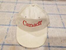 Vintage Canada Olympic Hockey Windsor Cap Hat 90's Deadstock Snapback Rare