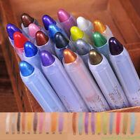 20 Colors Glitter Lip liner Eye Shadow Pencil Cosmetic Makeup Pen Eyeliner New