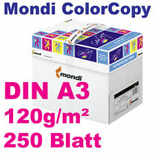 ColorCopy 120g DIN A3 250 Blatt Mondi Neusiedler Druckerpapier weiß Color Copy