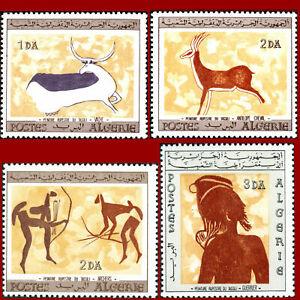 Algeria 1967 Painting Rupestre New MNH yt 437-44 Full Set 98M502