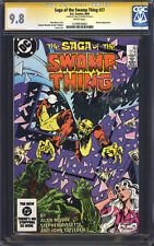 SAGA OF THE SWAMP THING #27 (Alan Moore) CGC 9.8 SS / Signed by John Totleben!