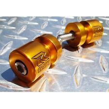 GOLD Suzuki GSXR Swingarm Spools / Bobbins GSX-R 600 750 1000 1100 M8