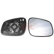 CHEVROLET SPARK 2009->2017 DOOR/WING MIRROR GLASS SILVER,HEATED & BASE,RIGHTSIDE