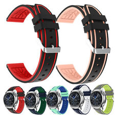 Silicone Sport Wrist Band Rubber Bracelets for Samsung Galaxy Watch 46mm Gear S3