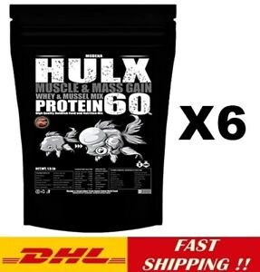 6 X HULX High Quality Goldfish Food Sinking Pellets Whey Mixed High Protein 60%