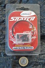 Climax Snatch Titan Single Wire Raubfisch Vorfach 3m incl. 20 Quetschhülsen
