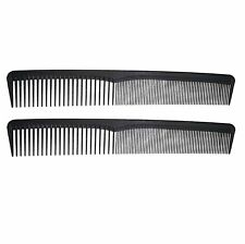 7in Plastic Thin Styling Comb (2 Pack)