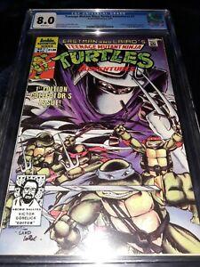 Teenage Mutant Ninja Turtles Adventures #1 CGC 8.0 (1989 ) Eastman / Laird cover