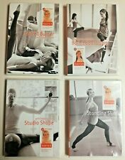 4 Pure Barre3 Sadie Lincoln & Candace Ofcacek Motivational Workout DVDs 1 Sealed