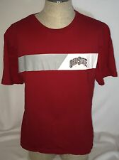 "*Ohio State Buckeyes Official Team Shop 2 Red S/S T-Shirt XL 50"" Chest EUC"