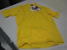 NEW YELLOW LOUIS GARNEAU MICRO AIRDRY BIKE BICYCLE SHIRT SIZE XL NEW WITH TAGS