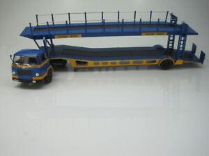 Camiones Articulados Altaya UNIC MZ36 TCA Remorque LKW IXO 1/43 cochesaescala