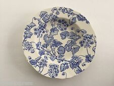 "Alfred Meakin China England Florette Blue Harmony Shape - 9"" COUPE SOUP BOWL"