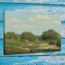 Canvas Print Art Work Painting G. Harvey Texas Hills Home Wall Decor 16x20