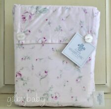 R Ashwell Simply Shabby Chic Antique Garden PINK Rose Rosebuds KING Sheet Set