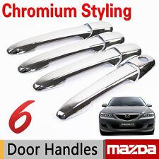 Chrome Handle Cover Set for Mazda 3 2003-2009 Mazda 6 2002-2008 Sticker Car