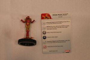 HEROCLIX - IRON MAN 2020 (050) - AGE OF ULTRON WAVE 2