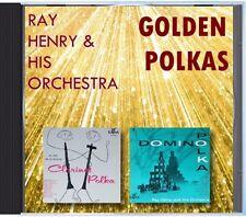 MZ 111 - Ray Henry & His Orchestra - Golden Polkas - POLKA CD