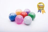 Sensory Rainbow Glitter Balls Set of 7, Visual SEN Autism