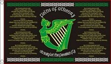 FIELDS of ATHENRY FLAG 5' x 3' Irish Ireland Eire Erin Go Bragh