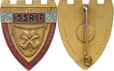 153° Régiment d'Infanterie de Forteresse, écu crénelé doré, ABPD+Past