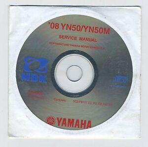 (CD1) CD MANUEL ATELIER MOTO YAMAHA YN50/YN50M 2008