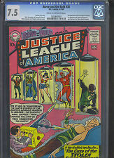 BRAVE AND BOLD #30 CGC VF- 7.5; CM-OW; 3rd app. Justice League!