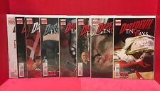 7x David Mack Signed Daredevil End Of Days #1-8 Of 8 Limited Series Marvel Comic