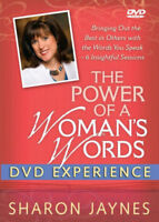 The Power Of A Woman's Words - DVD Experience by Sharon Jaynes (2 Disc Set), DVD