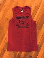 Energie Men's Red Tank Tops, Medium 100% Cotton