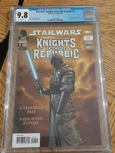 Star Wars: Knights of The Old Republic #9 CGC 9.8 1st Full Revan Low Census 🔥🔥