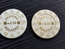Malaysia Genting token used 1pc