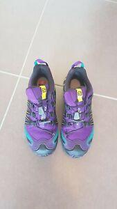 SALOMON Trail-Running Schuhe Speedcross XA PRO 3D GTX Damen lila 39 1/3