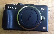Panasonic LUMIX DMC-GX1 16.0MP Digital Camera - Black (Body Only) Used