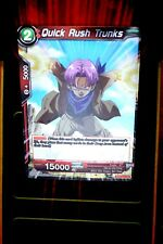 Dragon Ball Super Quick Rush Trunks BT3-011 Foil Parallel Rare NM/M