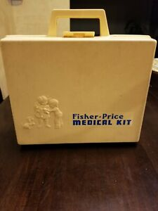 Vintage 1977 Fisher Price Medicial Kit 937
