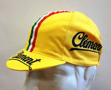 """New Clement """"Vintage"""" Cycling Cap - Made in Italy by Apis"""